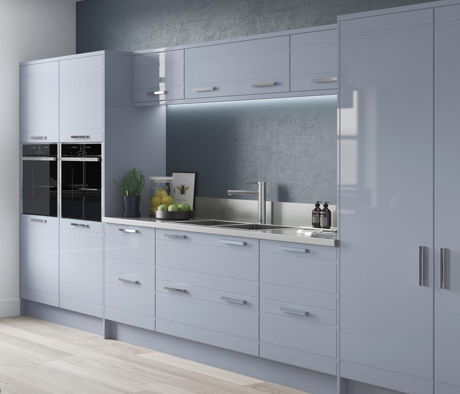 Kitchen Lighting Pelmet: Accessories And Extras To Match New Kitchen Cabinet Doors